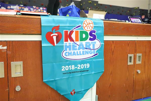 Fremont Intermediate School students participated in the annual Kids Heart Challenge.