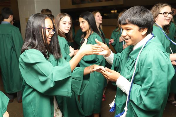 Fremont School District 79 confirmed 266 graduates June 3, 2019.