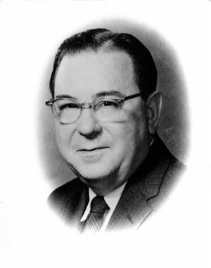 First Superintendent, Donald R. Badders
